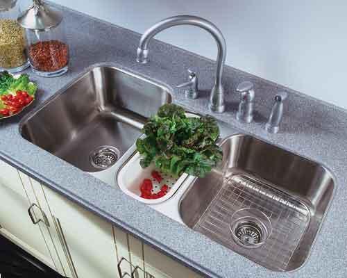 4 ưu điểm vượt trội của chậu rửa bát 3 hố