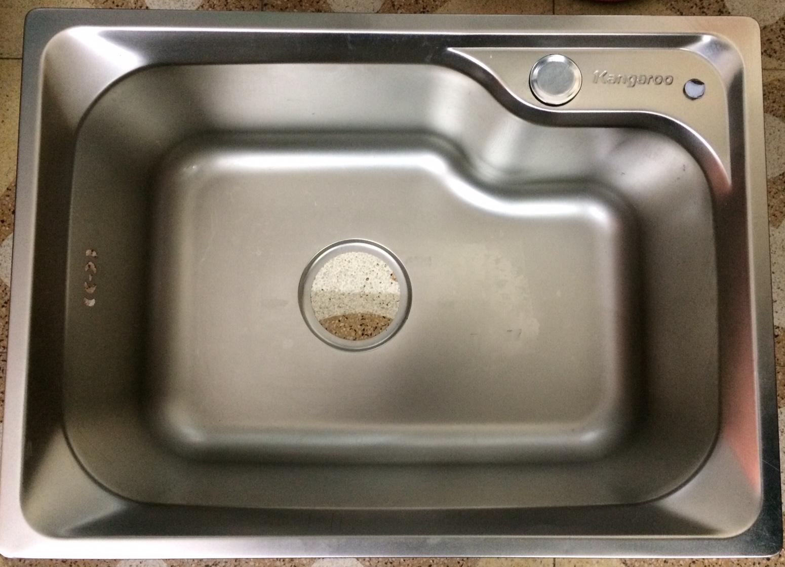 Chậu rửa bát inox  1hố KANGAROO KG5439