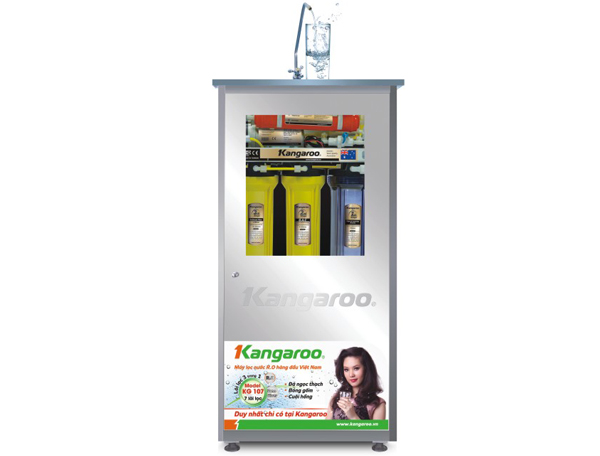 Máy lọc nước Kangaroo KG107( lõi lọc 3 trong 1)
