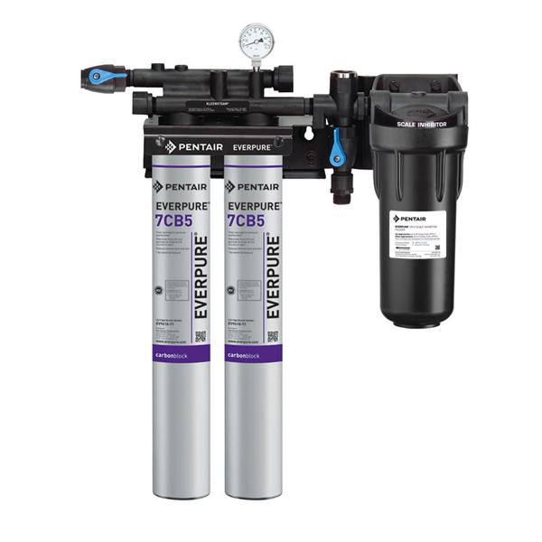 Máy lọc nước everpure cho máy hấp Kleensteam twin